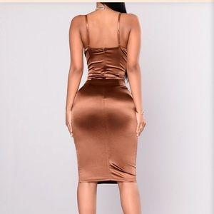 Stupid In Love Dress - Chocolate